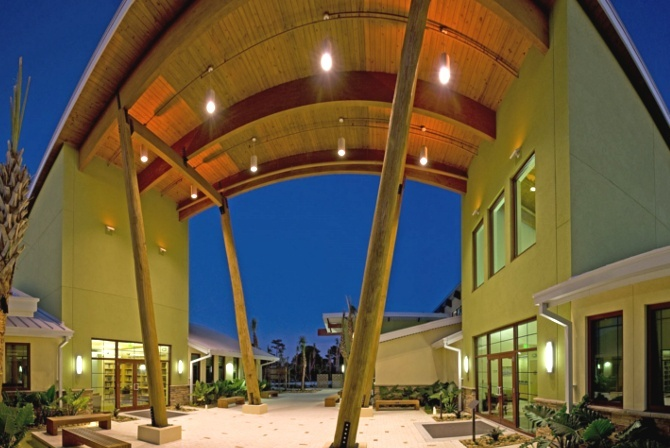 Gold LEED certified and critically acclaimed architectural design by Carlson Studio Architecture